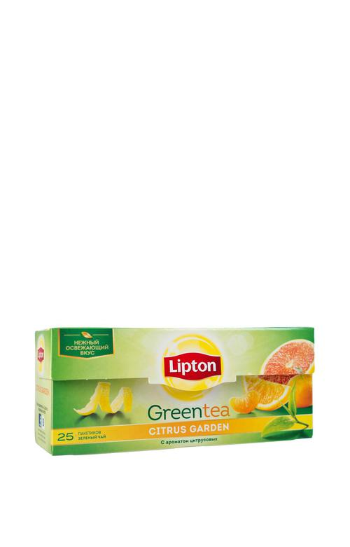 отзыв Lipton CITRUS GARDEN GREEN TEA