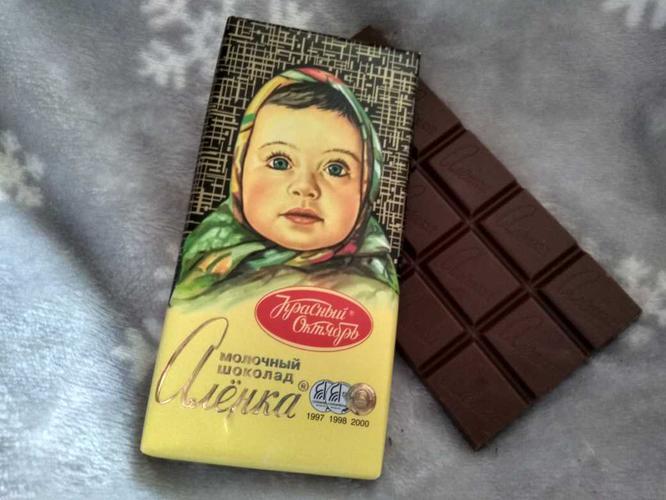 """фото10 Шоколад """"Аленка"""" молочный, 100гр."""