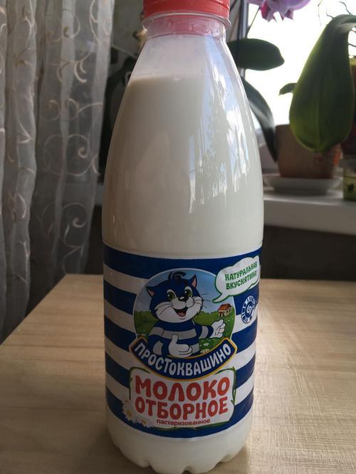 фото Молоко Простоквашино, цельное отборное питьевое пастеризованное , 930мл.