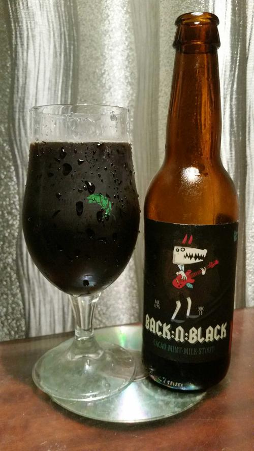 НАПИТОК ПИВНОЙ НЕПАСТЕРИЗОВАННЫЙ НЕФИЛЬТРОВАННЫЙ НЕОСВЕТЛЕННЫЙ «Бэк н Блэк / Back'n'Black» АЛК. 6.9 %