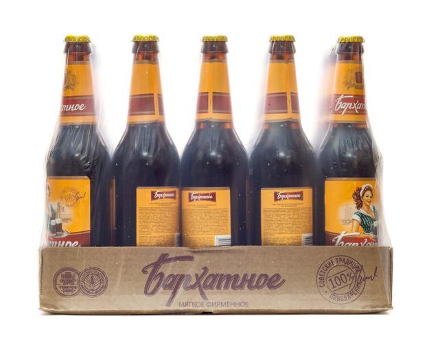 цена Пиво темное Бархатное фирменное