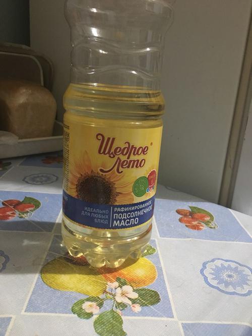отзыв Масло Щедрое лето подсолнечное рафинированное дезодорированное вымороженное, первый сорт