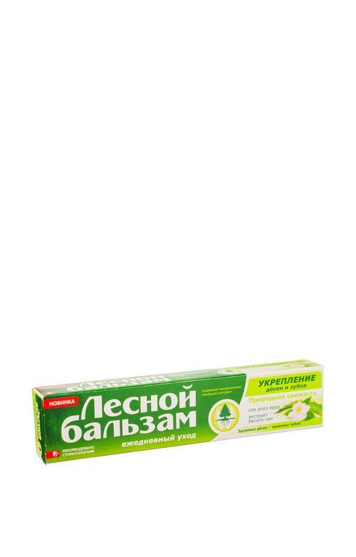 """цена Профилактическая зубная паста """"лесной бальзам"""" с экстрактами алоэ-вера и белого чая на отваре трав"""
