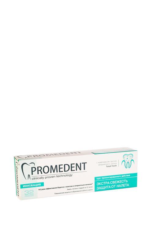 """отзыв 32 Бионорма Promedent зубная паста """"Экстра свежесть"""", 90 мл"""