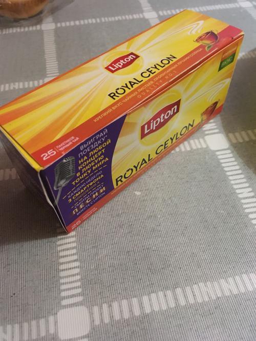 фото7 Чай Lipton Royal Ceylon, черный байховый цейлонский