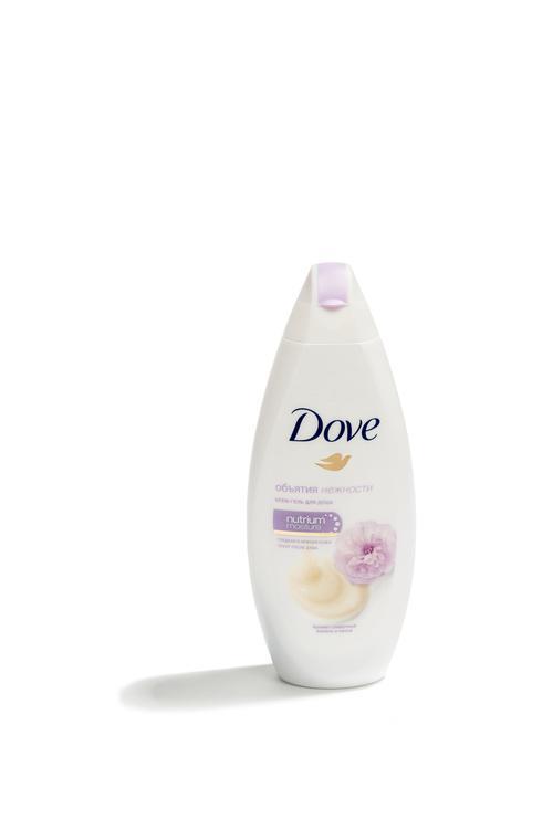Dove Крем-гель для душа Сливочная ваниль и Пион, 250 мл