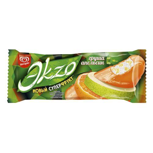 Мороженое Эkzo груша,апельсин