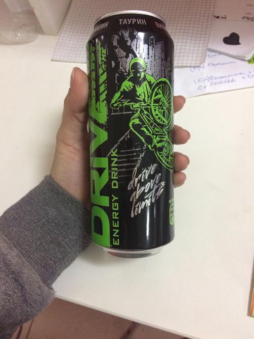 """фото3 Напиток безалкогольный энергетический тонизирующий газированный """"драйв ми ориджинал"""""""