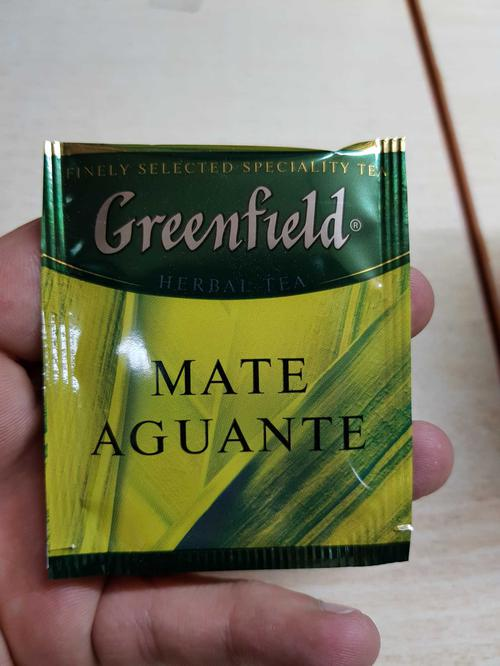фото Напиток чайный Гринфилд Матэ Агуантэ в пакетиках