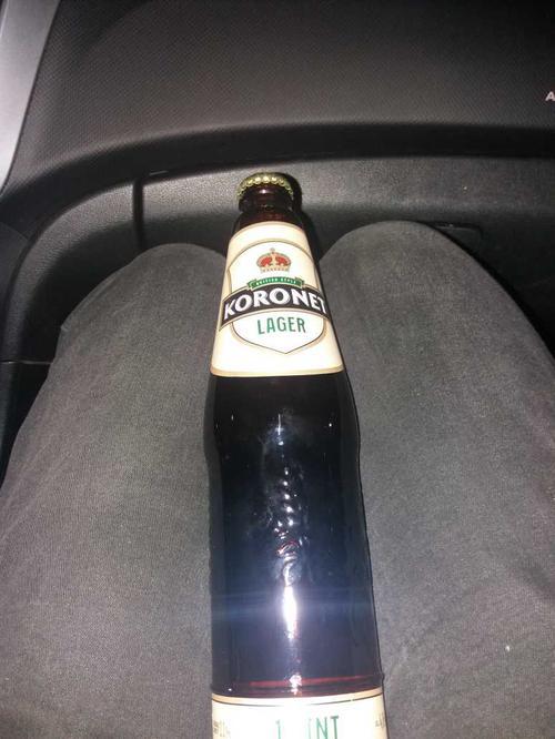 Пиво 0.5 лагер koronet 1pint
