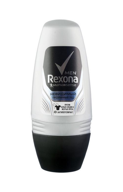 Дезодорант Rexona Man Invisible Ice, ролик, 50мл
