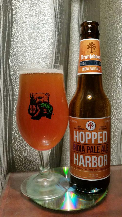 Пиво Oranjeboom Hopped Harbour India Pale Ale 7,8%