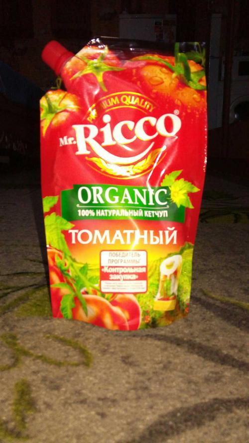 фото11 Кетчуп томатный Pomodoro Speciale Mr.Ricco. Высшая категория. Пастеризованный.