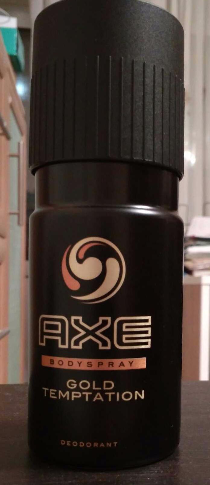 фото5 Дезодорант Axe аэрозоль голд темптейшн 150мл 150мл