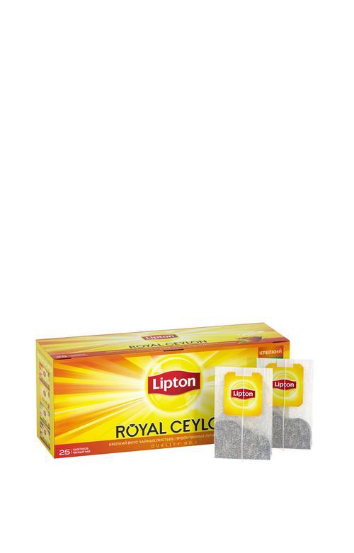 стоимость Чай Lipton Royal Ceylon, черный байховый цейлонский