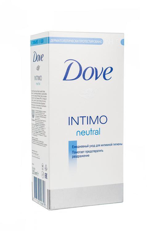 цена Dove Intimo neutral средство косметическое для интимной гигиены