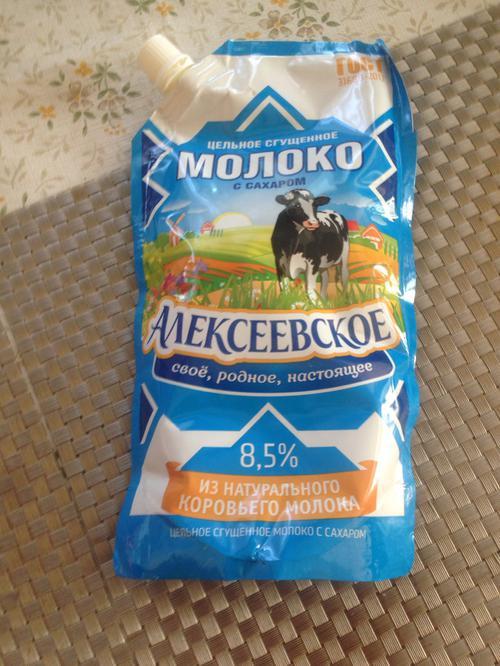 """фото7 Молоко сгущенное """"алексеевское"""" цельное с сахаром 8,5%"""
