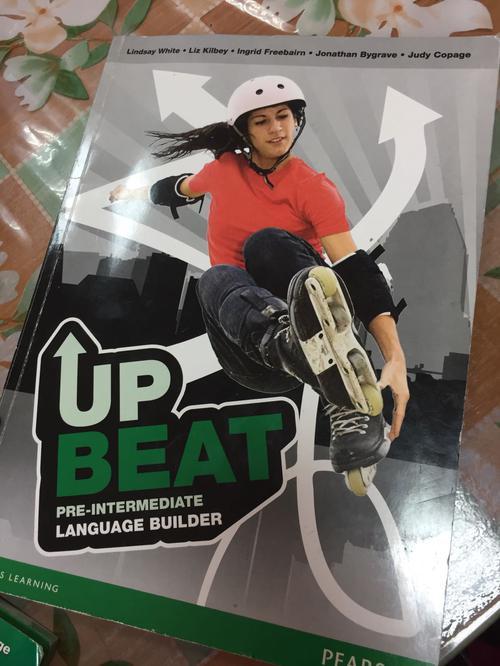 Upbeat Pre-Intermediate Language Builder