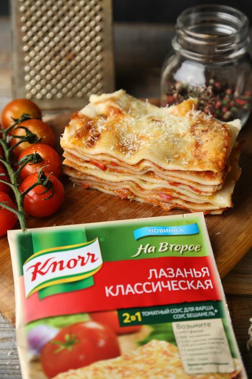 Knorr На Второе сухая смесь для соуса лазанья классическая 41 гр