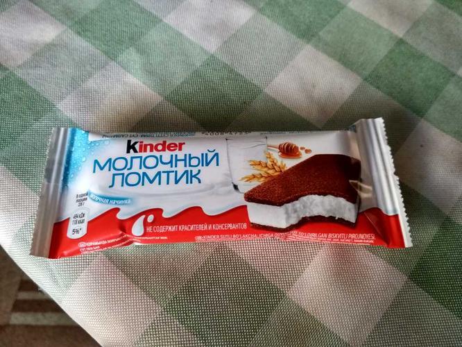 фото2 Бисквитное пирожное KINDER Молоко и Мед, 28г.