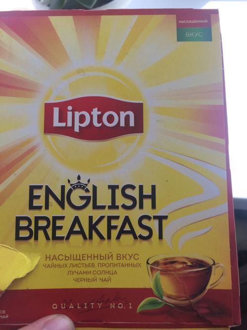 стоимость Чай черн байховый lipton english breakfast 12x100пакx2г