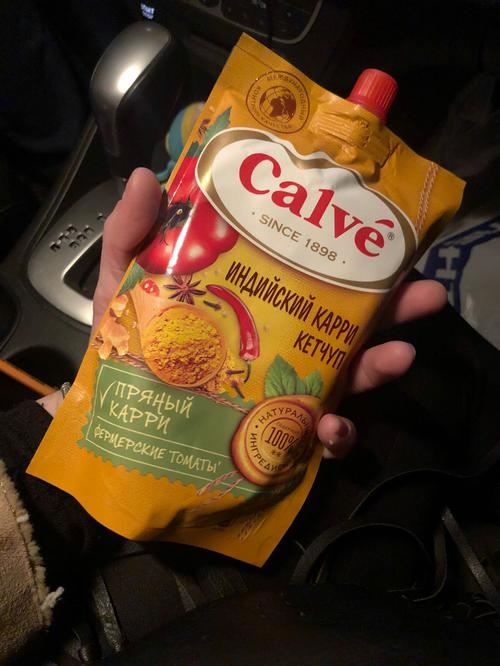 Calve кетчуп карри
