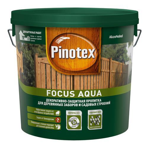 Пропитка Pinotex focus красное дерево 5л