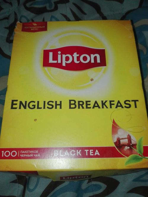 фото Чай черн байховый lipton english breakfast 12x100пакx2г