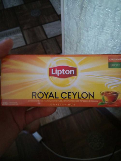 фото8 Чай Lipton Royal Ceylon, черный байховый цейлонский