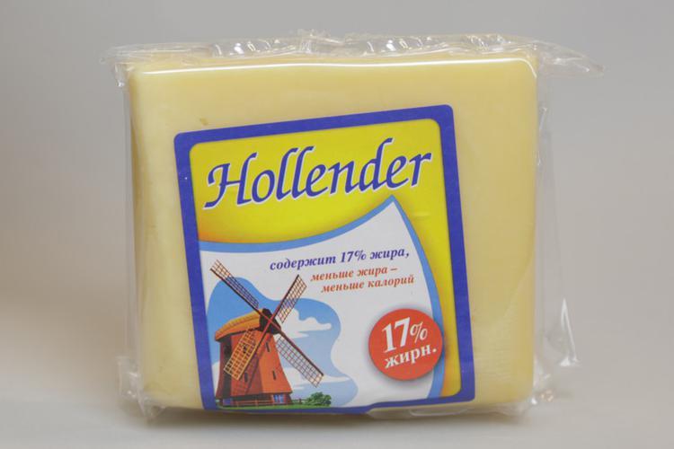 Сыр Hollender 17%