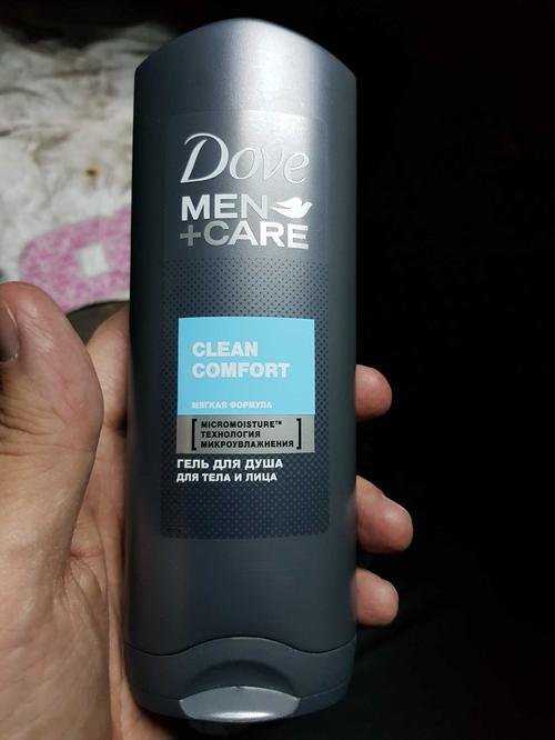 """стоимость Гель для душа для тела и лица """"Dove Men+care"""" Чистота и комфорт, мягкая формула, борется с сухостью кожи, 250мл"""
