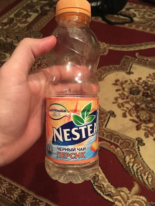 Nestea освежающий чай, вкус персика, без консервантов 0,5л