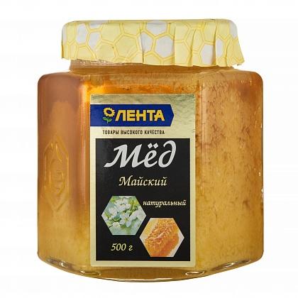 Мёд натуральный цветочный фасованный майский