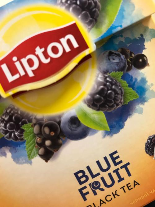фото6 Чай Lipton Blue Fruit, 20пак.