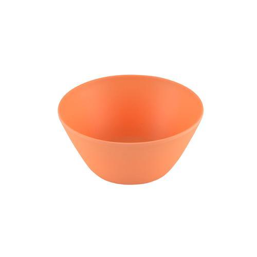 Миска 14x7см / 650мл, цвет Оранжевый (бамбуковое волокно)