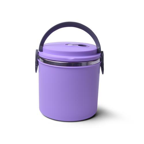 Для пищи термо ланч-бокс 15x16см / 1,85л (нерж.сталь, пластик)