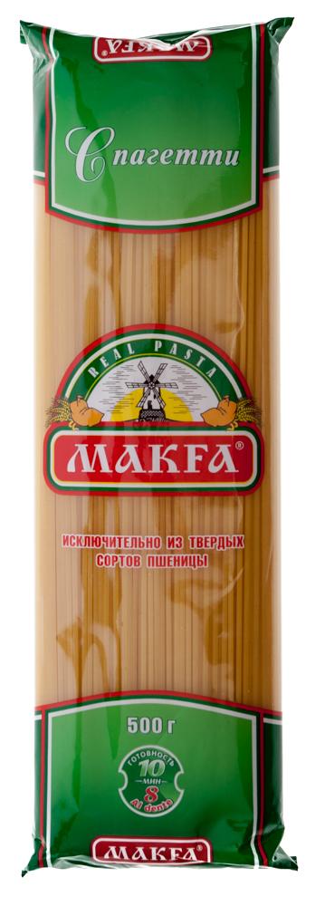 """Макаронные изделия """"Макфа"""" спагетти"""