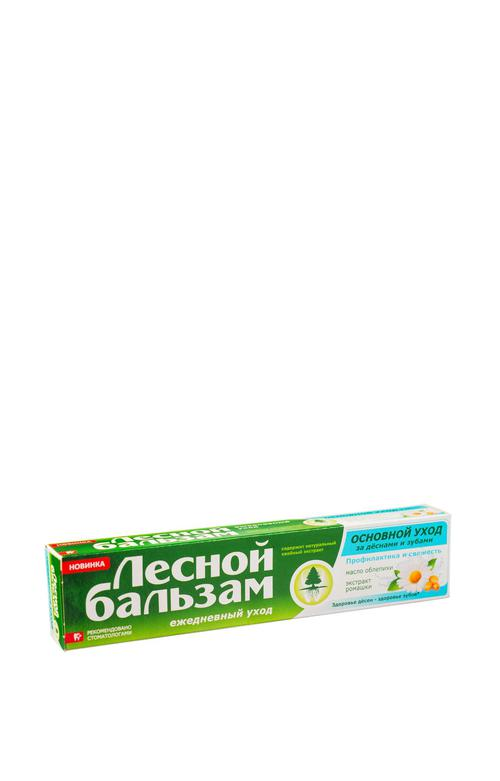 стоимость Лечебно-профилактическая зубная паста с экстрактом ромашки и маслом облепихи на отваре трав