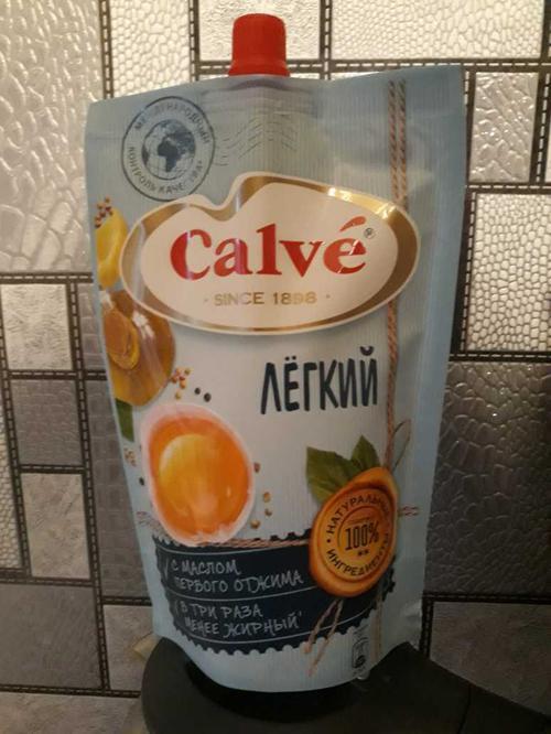 фото2 Майонезный соус Calve Легкий 20%