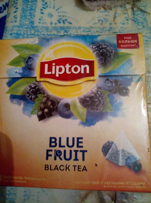 фото Чай Lipton Blue Fruit, 20пак.