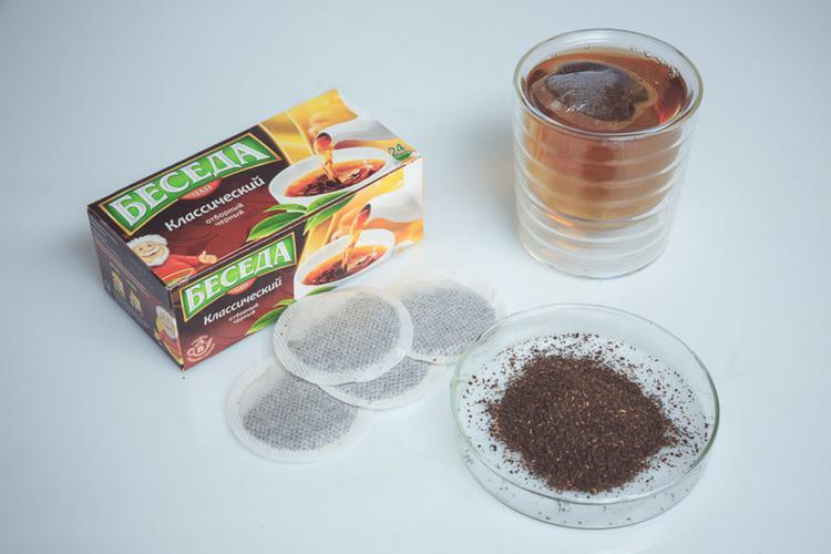 """Чай """"Беседа"""" (Unilever), черный байховый классический отборный"""