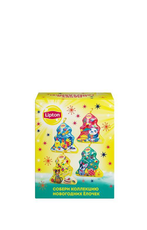 """фото7 Набор lipton """"новогодняя ёлочка"""" с листовым чаем"""
