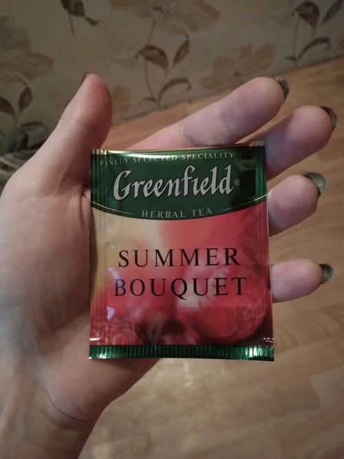 фото5 Напиток чайный Гринфилд Самма Букет в пакетиках