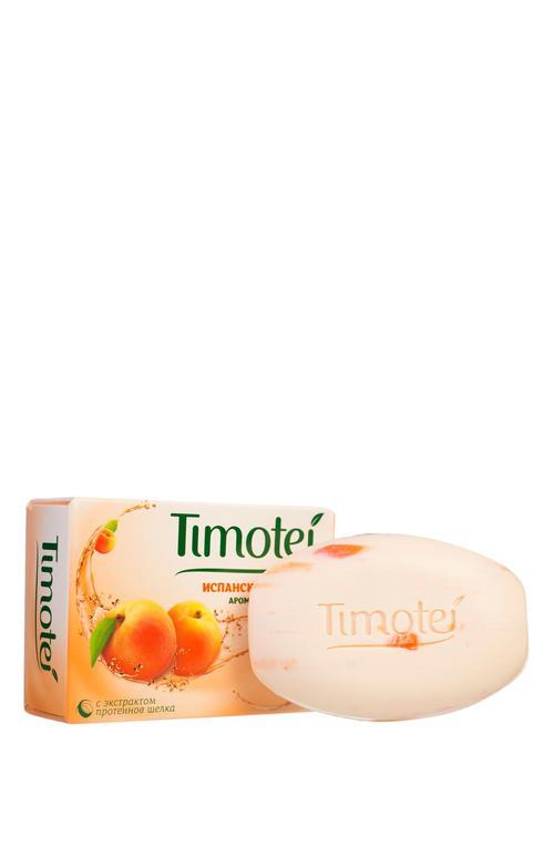 """описание Мыло """"timotei"""" испанское солнце ароматный абрикос."""