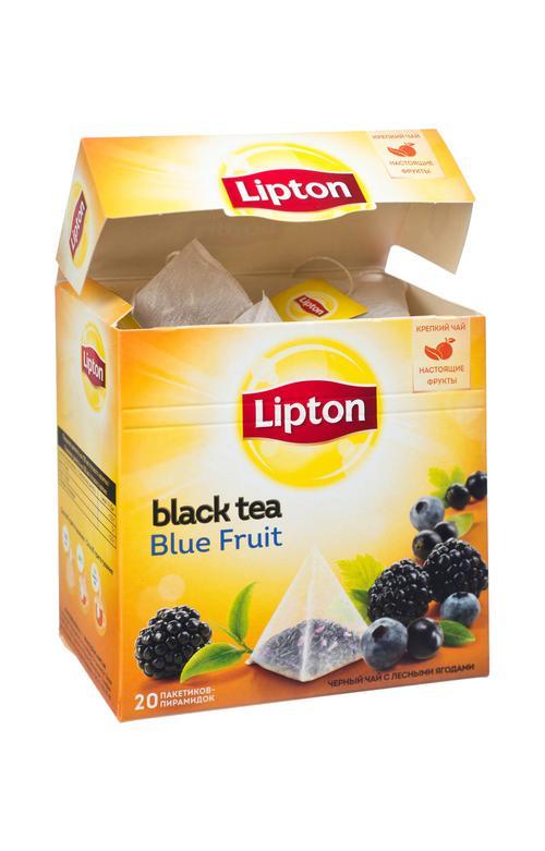 отзыв Чай Lipton Blue Fruit, 20пак.