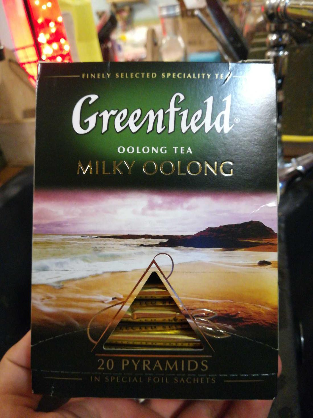 фото6 Чай Гринфилд Milky Oolong  байховый китайский в пакетиках