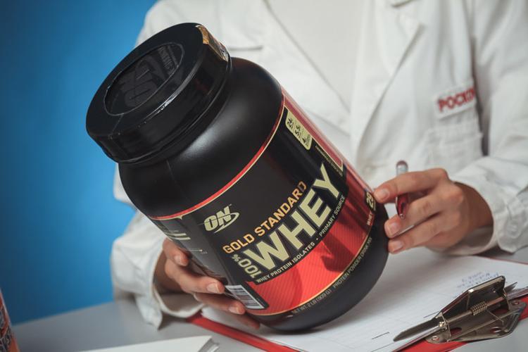 Смесь белковая Gold standard 100% Whey
