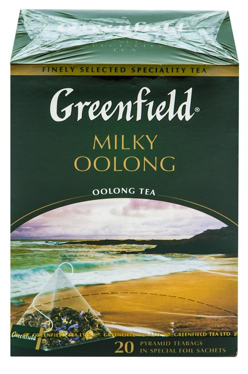 Чай Гринфилд Milky Oolong  байховый китайский в пакетиках
