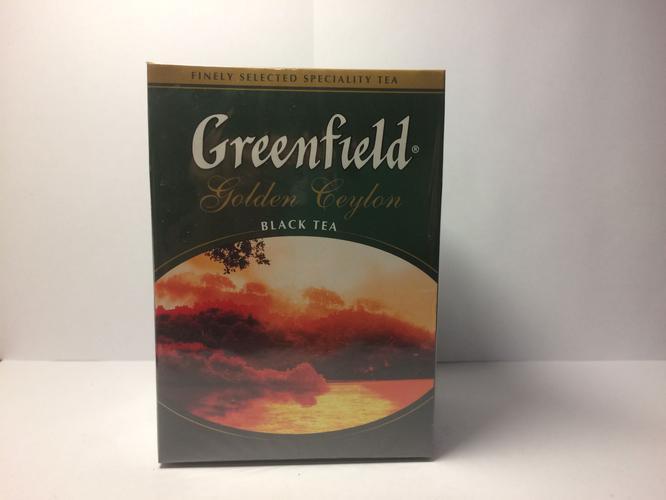 фото1 Чай Greenfield Golden Ceylon чёрный листовой цейлонский