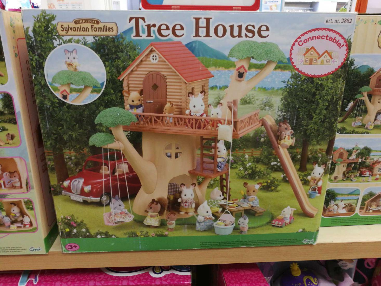Кукольный дом (Sylvanian Families)